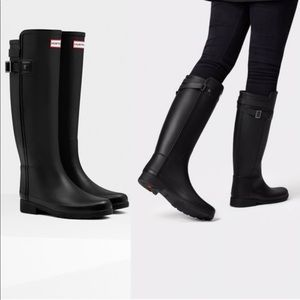 Refined Hunter Rain Boots